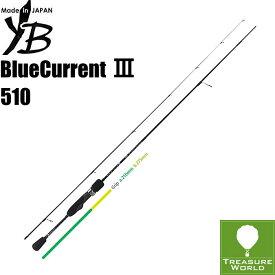 ★即納★●2020 Model●YAMAGA Blanks (ヤマガブランクス)BlueCurrent III(ブルーカレント 3)510【ライトゲーム】【アジング】【メバリング】