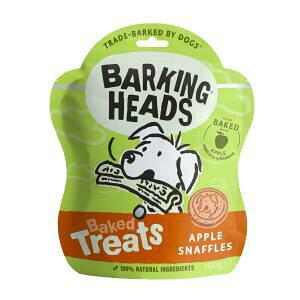 バーキングヘッズ ベイクド トリーツ アップル スナッフル 100g ドッグフード 犬のおやつ 犬 ビスケット クッキー リンゴ りんご 犬用クッキー 犬用おやつ 犬のおやつ 玄