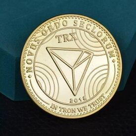 TRON コイン ゴールド TRX