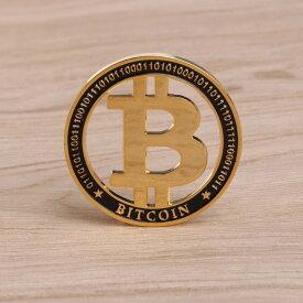 最新モデル ビットコイン 仮想通貨 メダル コイン ゴールド マーカー