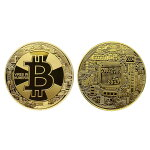 新ビットコインゴールドbitcoin仮想通貨メダル金