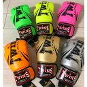 正規品 Twinsキックボクシング ムエタイ ボクシング グローブ 8oz グリーン ピンク オレンジ ゴールド シルバー ライ…