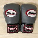 Twins ボクシンググローブ グレー 10oz オンス