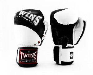 TWINS SPECIAL ボクシンググローブ 8oz 10oz 12oz 14oz 16oz 白 黒/ボクシング/ムエタイ/グローブ/キック/フィットネス/本革製/ツインズ