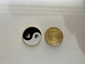 陰陽マーク メダル 太陰太極図 ポーカー コイン コレクション