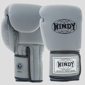 Windy グローブ グレー 10oz 12oz 14oz 16oz ウィンディ ムエタイ キックボクシング 総合格闘技 ボクシング 空手 テコンドー