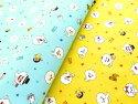キャラクター生地おばけのやだもん【オックス/コットン100%】2019年絵本シリーズ最新柄布生地キャラクターかわいいcharacterfabric,forsouvenir,forkindergarten