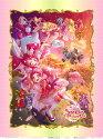 """【送料無料】[キャラクター生地]""""プリキュアドリームスターズ""""【コットン100%サテン】フルデジタルプリント2017年春の映画に合わせた最新柄1パネル単位の販売です。"""