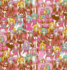 【送料無料】 キャラクター 生地 AKB0048 【オックス/コットン100%】 レッスンバッグやエプロンなどの手づくりグッズに。 布 生地 キャラクター生地 かわいい kawaii cute character fabric, for souvenir,