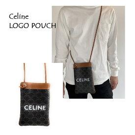 セリーヌ(CELINE) 195892DF1 CELINEロゴポーチ minibag ブランド バッグ