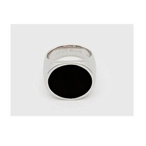 トムウッド(TOMWOOD) R75MLBOM01S925 FlushBlackOnyx Circle リング メンズ ブランド アクセサリー