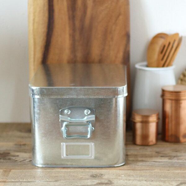 トタン 米びつ 米櫃 7kg 日本製 6032