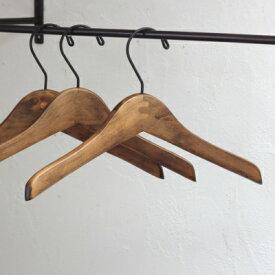 木製ハンガー ロータス ハンガー S 約30cm