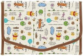母子手帳ケース くまのプーさん 不織布製 スケッチブック BMAN1 ジャバラ ブランド ディズニー おしゃれ キャラクター かわいい 大容量【送料無料】