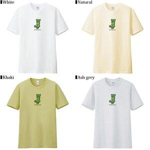 メール便送料無料7MILEOCEANメンズ半袖Tシャツプリントクルーネック人気ブランドロゴアメカジストリートマリファナベアカンナビス白黒グレーネイビーイエローピンクブラウンオリーブSMLXLXXL大きいビッグサイズ対応春夏物