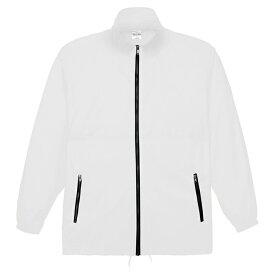 メンズ コート ジャケット アクティブコート 無地 ホワイト M サイズ 033-AC