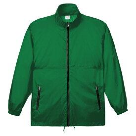 メンズ コート ジャケット アクティブコート 無地 グリーン M サイズ 033-AC