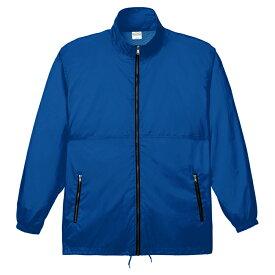 メンズ コート ジャケット アクティブコート 無地 ブルー M サイズ 033-AC