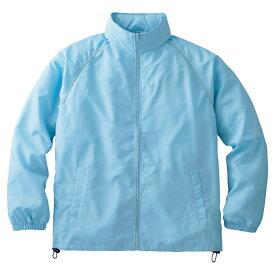 メンズ ビックサイズ 大きいサイズ ジャケット フードインコート 無地 サックス XL サイズ 049-FC