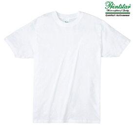 メンズ tシャツ 半袖 ライトウェイト 4.0オンス 無地 ホワイト L サイズ 083-BBT