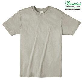 メンズ tシャツ 半袖 ライトウェイト 4.0オンス 無地 シルバーグレー S サイズ 083-BBT