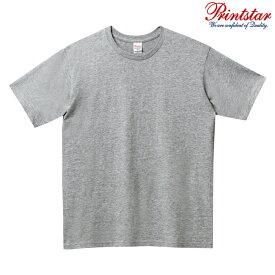 メンズ ビックサイズ 大きいサイズ tシャツ 半袖 5.0オンス 無地 杢グレー 2XL サイズ 086-DMT