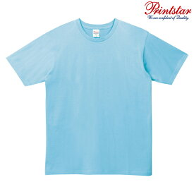 メンズ tシャツ 半袖 5.0オンス 無地 ライトブルー S サイズ 086-DMT