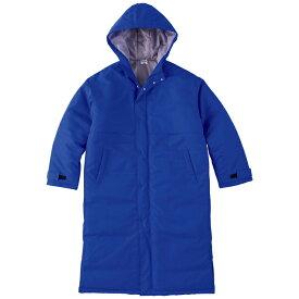 メンズ コート ジャケット ベンチコート 無地 ロイヤルブルー S サイズ 230-ABC