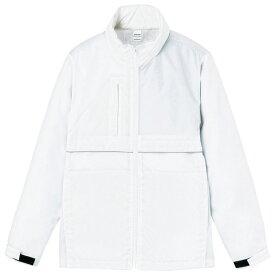 メンズ ビックサイズ 大きいサイズ ジャケット コート リフレクスポーツコート 無地 ホワイト XL サイズ 233-RBC