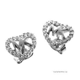 マイケルコース MICHAEL KORS ピアス Pave Logo Heart Studs MKC1243AN040