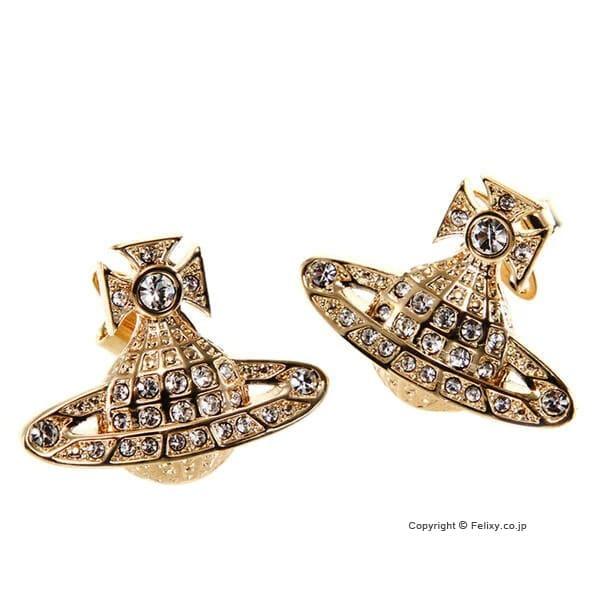 ヴィヴィアンウエストウッド Vivienne Westwood ピアス Mini Bass Relief Earring 725012B/2 【あす楽】