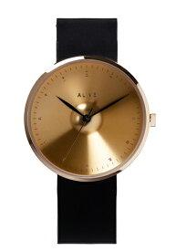 アライブ アスレティックス 時計 ALIVE ATHLETICS 腕時計 THE WAVE Gold