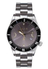 アライブ アスレティックス 時計 ALIVE ATHLETICS メンズ レディース 腕時計 GRAVITY Silver/Gray