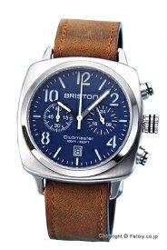 ブリストン BRISTON 腕時計 Clubmaster Classic Chronograph (クラブマスター クラシック クロノグラフ) ネイビーブルー 16140.S.C.15.LVBR 【あす楽】