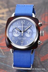 ブリストン BRISTON 腕時計 Clubmaster Chronograph (クラブマスター クロノグラフ) ライトブルー×シルバー 16140.SA.T.14.NLB 【あす楽】