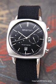 ブリストン BRISTON 腕時計 Clubmaster Vintage Chronograph (クラブマスター ヴィンテージ クロノグラフ) ブラック 16140.S.V.1.LFB 【あす楽】