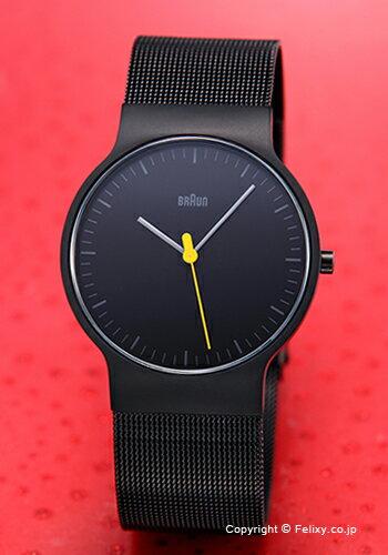 ブラウン BRAUN 腕時計 BN0211シリーズ オールブラック メンズ BN0211BKMHG