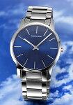 【CalvinKlein】カルバンクライン腕時計CkCity(シーケーシティ)ブルーメンズK2G2114N