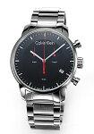【CalvinKlein】カルバンクライン腕時計CkCityChronograph(シーケーシティクロノグラフ)ブラックメンズK2G27141