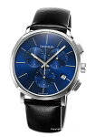 【CalvinKlein】カルバンクライン腕時計CkPosh(シーケーポッシュ)ネイビーブルー/ブラックレザーストラップK8Q371CN