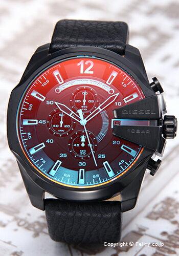 ディーゼル 時計 メンズ DIESEL 腕時計 DZ4323 メガチーフ ブラックポラライザー 【あす楽】