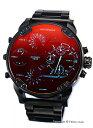ディーゼル DIESEL 腕時計 MR Daddy 2.0 ブラックポラライザー DZ7395