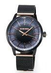 【DIESEL】ディーゼル腕時計Castilia(カスティーリャ)オールブラック×ローズゴールドレディスDZ5577