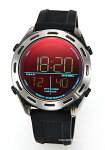 【DIESELディーゼル腕時計CRUSHER(クラッシャー)ブラックポラライザーDZ1893