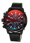 【DIESEL】ディーゼル腕時計Griffed(グリフド)ブラックポラライザーDZ4519