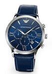【EMPORIOARMANI】エンポリオアルマーニ腕時計RenatoChronograph(レナートクロノグラフ)ネイビーAR11164