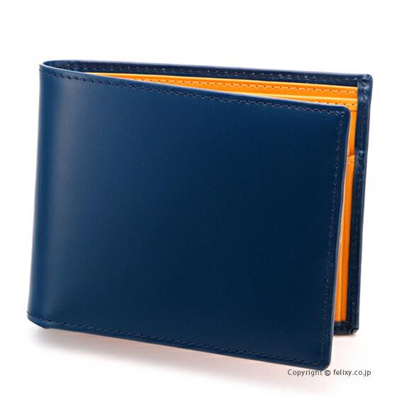 エッティンガー ETTINGER メンズ財布 小銭入れ付き二つ折り BH141JR PETROL BLUE