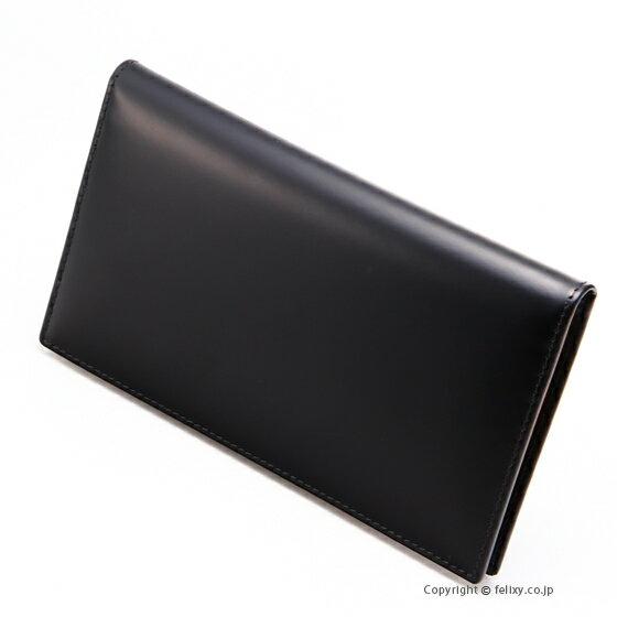 エッティンガー ETTINGER メンズ財布 長札入れ BH806AJR BLACK
