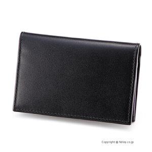 エッティンガー ETTINGER カードケース 名刺入れ ST143JR BLACK×PURPLE