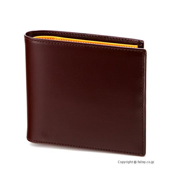 エッティンガー ETTINGER メンズ財布 小銭入れ付き二つ折り BH142JR NUT